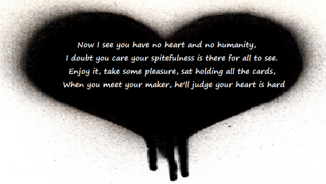 Cold dark heart