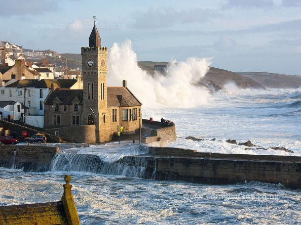 Porthleven, Cornwall. Beautiful on a still day, dangerous on a wild one. Image credit: Cornwall365.co.uk
