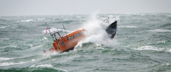 RNLI Shannon Class Lifeboat. Credit: RNLI