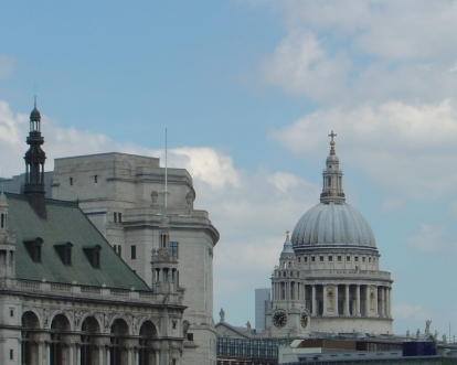 St Pauls from the river