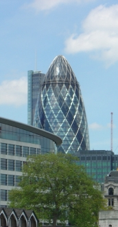 "30 St Mary Axe ""the Gherkin"""