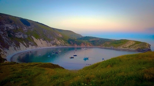 Peace for the restless soul - Lulworth Cove
